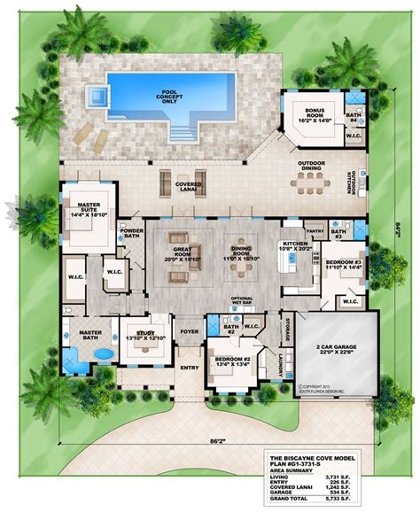 modern house plans with pool best 25 house plans with pool ideas on pinterest one floor house plans house