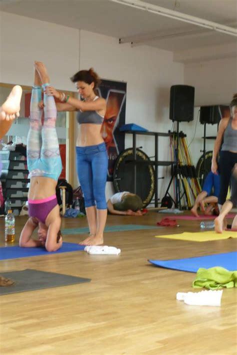 yoga headstand tutorial beginning steps to headstands ali kamenova