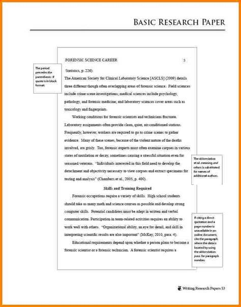 apa format paper template 6 exles of apa papers resume reference