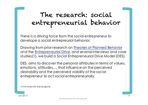 social entrepreneurship thesis abstract phd dissertation social entrepreneurship