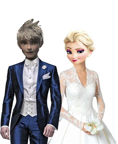 imagenes de jack y elsa elsa y jack frost boda by tekutrclone3wu on deviantart