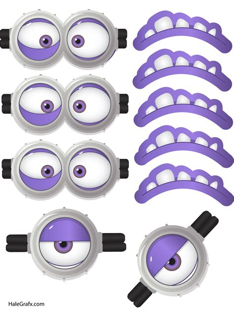 printable purple minion eyes the gallery for gt purple minion names