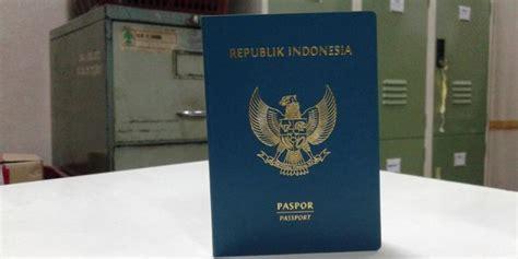 paspor indonesia desain baru ini paspor model baru yang lebih quot ngejreng quot kompas com