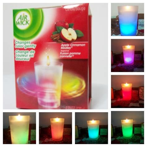 color changing candle airwick color changing candle review and giveaway simply
