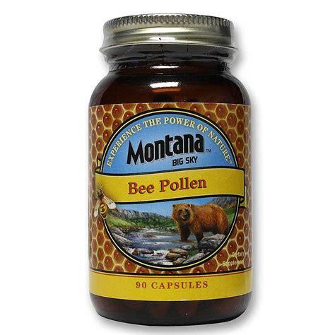 Bee Pollen Detox Symptoms by Montana Bee Pollen 580 Mg 90 Capsules Evitamins