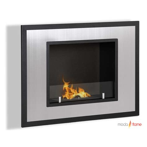 moda wall mounted ethanol fireplace