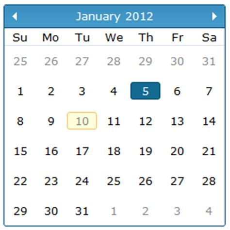 Jquery Calendar Jquery Calendar Localization Javascript Html5 Jquery