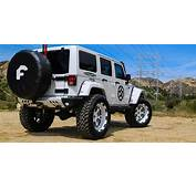 Lifted Jeep Wrangler On Forgiato Wheels  Off Road