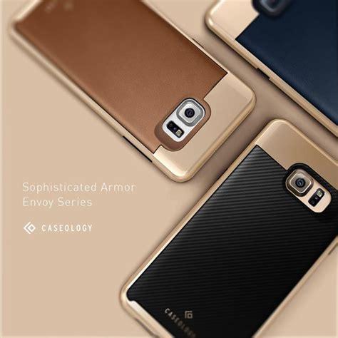 Caseology Samsung Not 5 caseology envoy series skal till samsung galaxy note 5 brun themobilestore