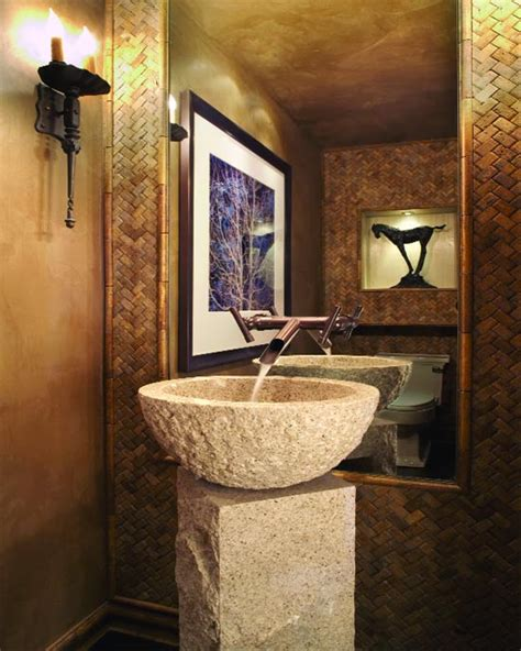 powder bathroom 25 gorgeous powder rooms that can amaze anybody digsdigs