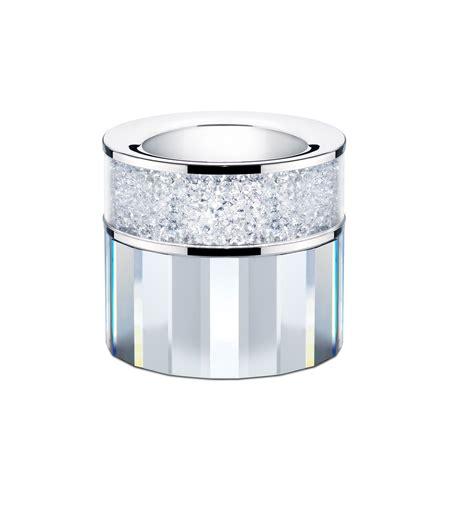 clear tea light holders large swarovski crystal filled tea light candle holder