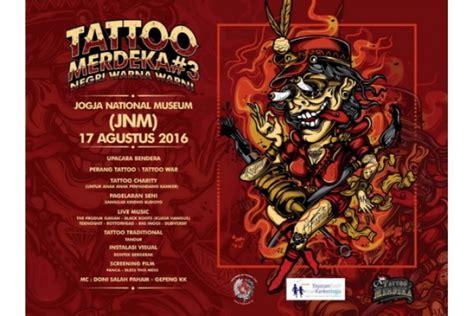 Tattoo Merdeka Jogja | satu harapan gerombolan tukang tato gelar tattoo merdeka 3