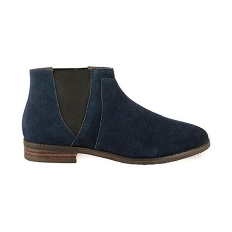 esska date s navy suede boots free delivery at