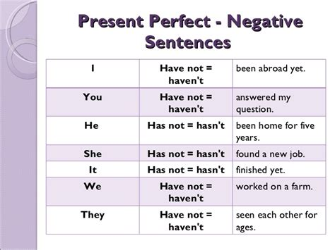 preguntas con past perfect present perfect tense