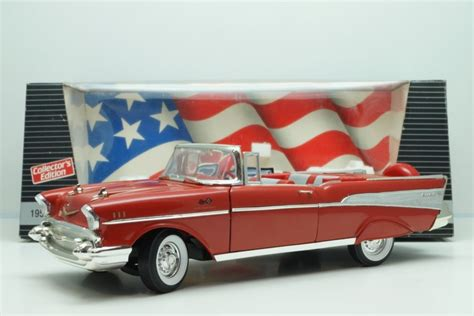 1 18 Ertl 1957 Chevrolet Bel Air Fireball 22 Race Stock Car M ertl scale 1 18 road 1957 chevrolet bel air convertible catawiki