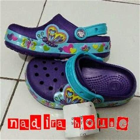Sepatu Merk Burch nadira house sepatu sandal crocs anak perempuan bisa