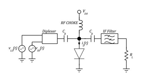 diode mixer circuit single diode mixer circuit 28 images principles of electronic communication systems ppt