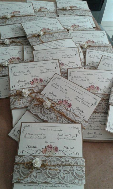 invitaciones boda 20 centimos invitaciones de boda ecol 243 gicas hispabodas invitaciones para boda y xv a 241 os 25 00 en mercado libre