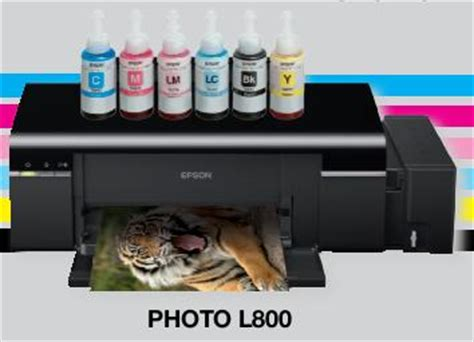 Printer A3 Epson L800 epson l800 cd print with refillable ink tank epson ink