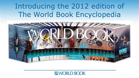 the world books world book encyclopedia books 2012