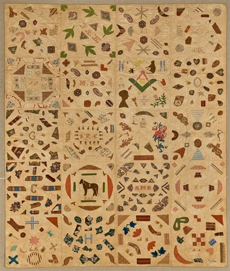 the anonymous world of quilting viewed through the