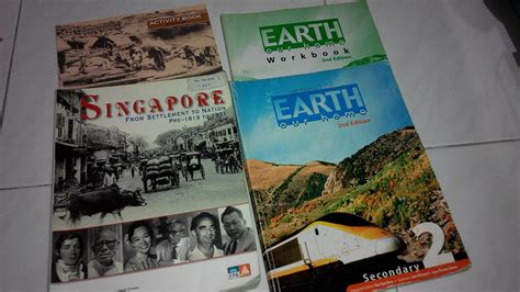 Earth Our Home Secondary 2 wts preloved sec 1 sec 2 textbooks