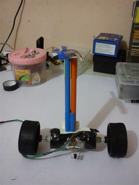 membuat robot elektronik cara membuat robot balancing robot keseimbangan