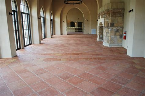 tuscan style flooring handmade terracotta tiles mexican saltillo and european