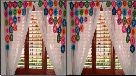 hermosas cortinas  crochet youtube