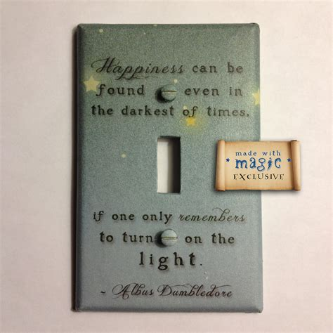 Turn On The Light by Harry Potter Inspired Turn On The Light Switch