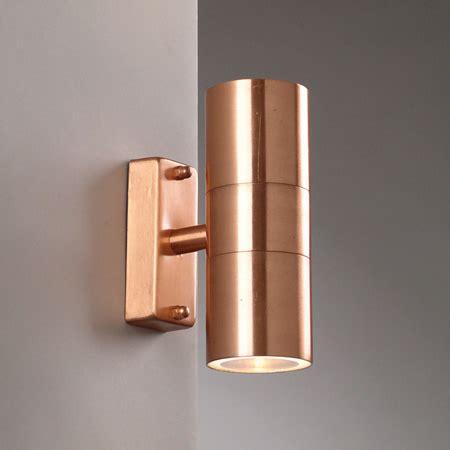 brushed copper wall light brushed copper wall light up