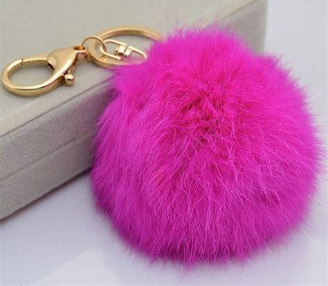 Grey Furball Bag Charm 77 best fur balls images on fox fur human