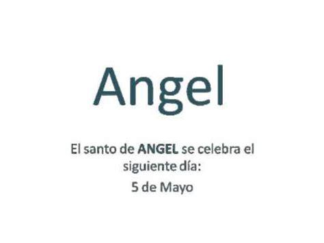 styling gel que significa origen y significado del nombre angel youtube