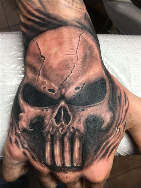 punisher tattoos best 25 punisher skull ideas on