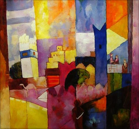 august painting and drawing motionista quality painted painting repro macke august