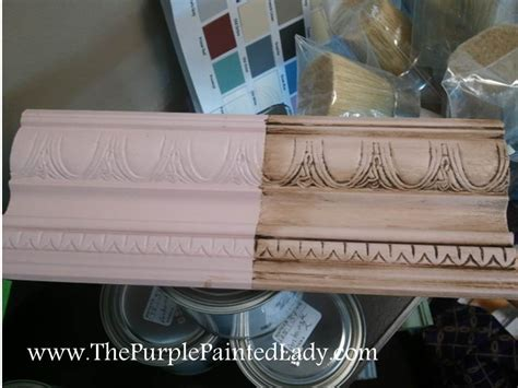 chalk paint using wax sanding chalk paint 174 before or after waxing the purple
