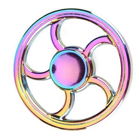 Neo Chrome Rainbow Speedy Metal Aluminium Fidget neo chrome alloy fidget spinner fidget spinner uk