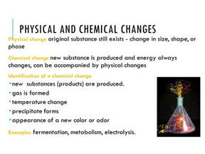is color physical or chemical physical science eoct chemistry review ppt