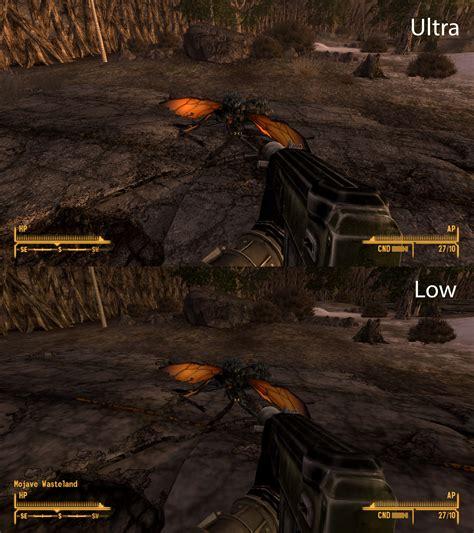 fallout new vegas better graphics graphics comparison on pholder 257 graphics comparison
