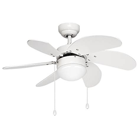 Ceiling Fan Setting For Summer by Le 30 Inch Ceiling Fan With 6 Wooden Blades And Light Kit Import It All