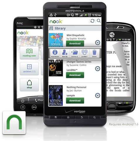 android for nook b n nook for android updated to v2 5 tech prezz