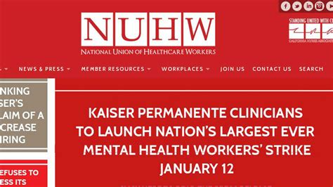 kaiser permanente workers strike statewide against failing