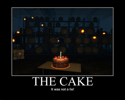 The Cake Is A Lie Meme - the cake is not a lie meme by dj zemar on deviantart