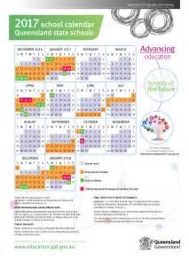 Queensland School Calendar 2018 Annual Calendars