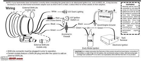 autometer tach wiring schematic efcaviation