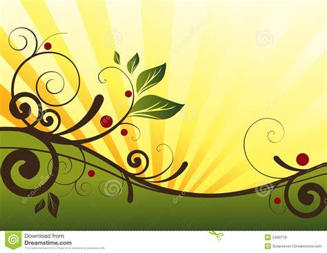 nature designs floral design stock illustration image of
