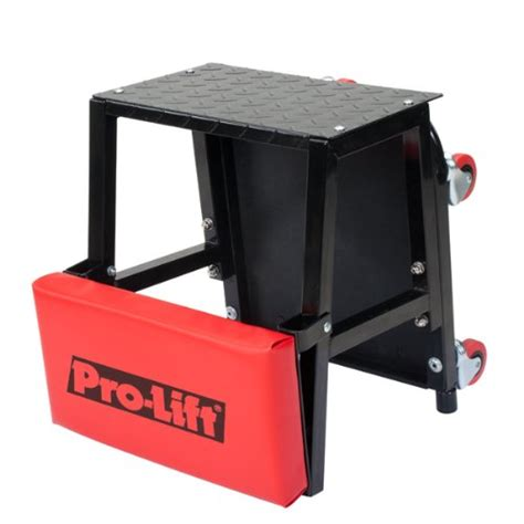Step Stool Toolbox Combo by Creeper Rolling Chair Stool Combo Auto Car Garage Mechanic