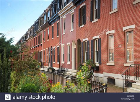 philadelphia house south philadelphia row houses on garden block st albans