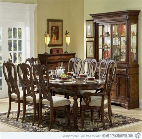 20 Traditional Dining Room Designs Home Design Lover Traditional Dining Room Furniture