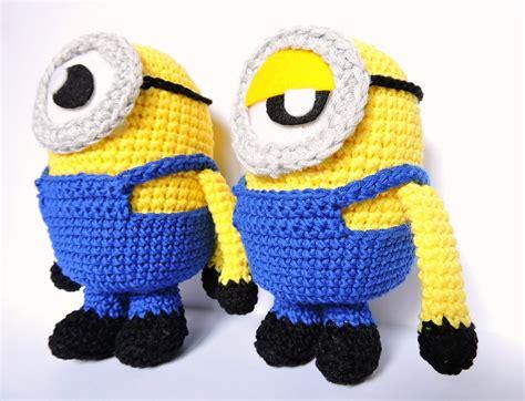 minion crochet bobs and the minions on pinterest minion amigurumi en espa 241 ol paso a paso amigurumi